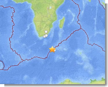M6.1 - 244km WNW of Marion Island, Prince Edward Islands 2013-07-22 07 01 42 UTC (1)