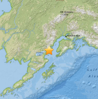 M6.4 - 86km WSW of Anchor Point, Alaska