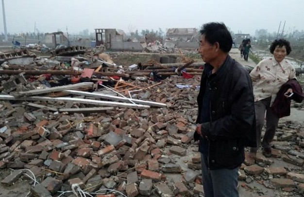 Tornado, hail storms kill at least 78 people in eastern China   Reuters