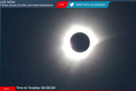 Total Solar Eclipse Live from Indonesia - YouTube (5)